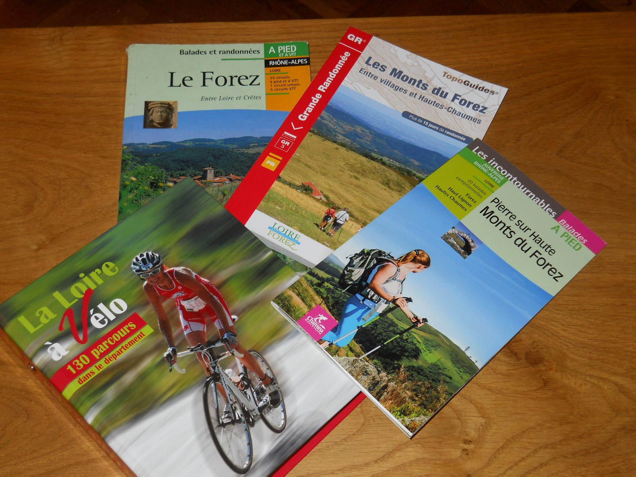 guides pour randos ou vélo