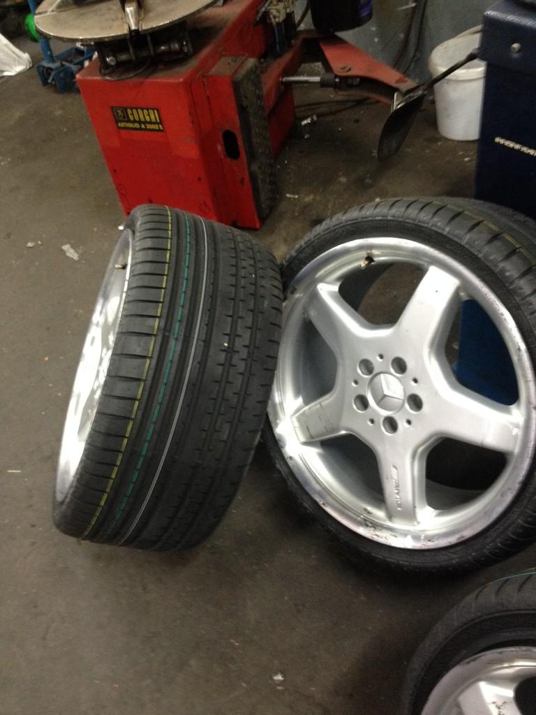 Reifenmontage bis 19 Zoll in unserer Mietwerkstatt