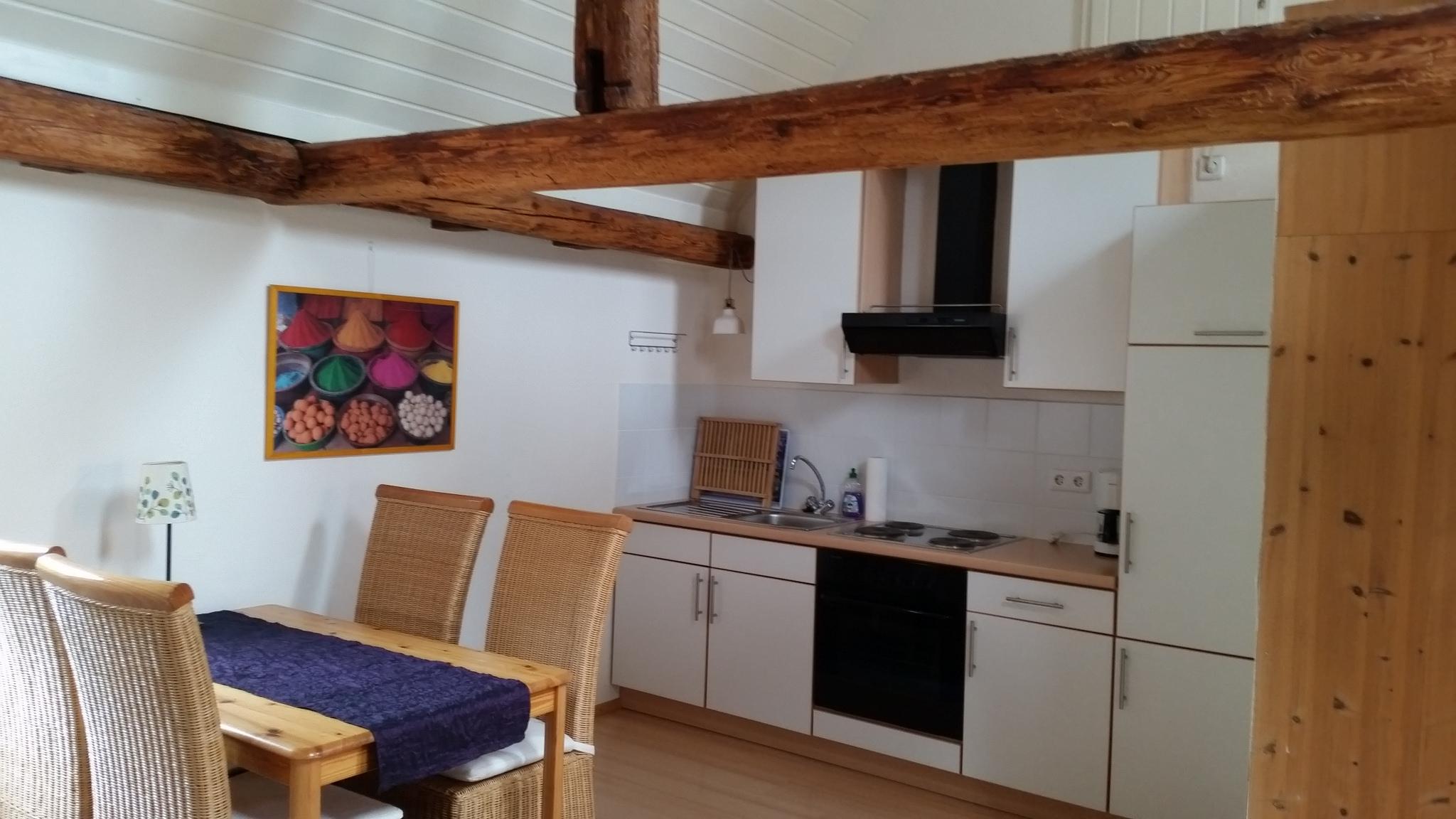 Küche Dachstudio Winzerhaus König