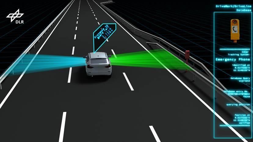 BR-Beitrag über DLR-Projekt, das präzise Karten für das automatisierte Fahren erstellt
