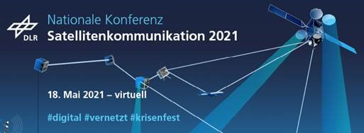 Nationale Konferenz Satellitenkommunikation am 18. Mai 2021