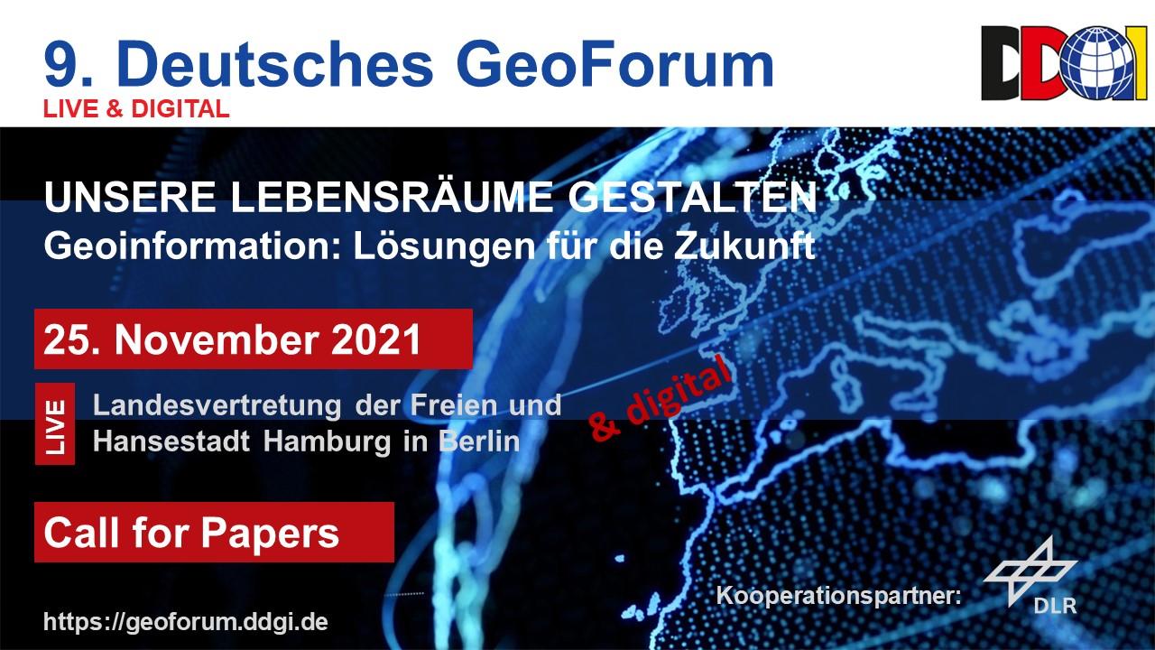DDGI GeoForum 2021