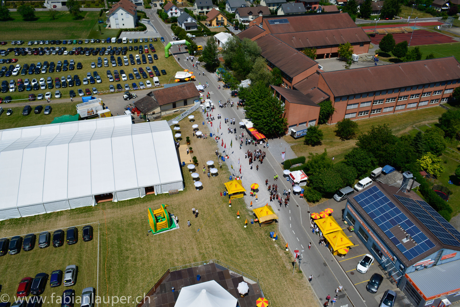 Kantonales Musikfest Müllheim TG 20.-22. Juni 2014