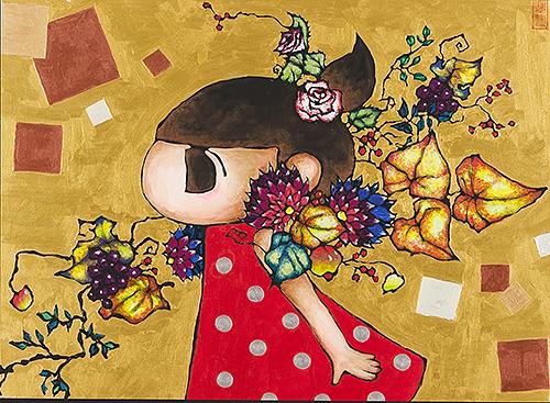 2012, 72.7 x 100.0 cm, 無題 (Untitled), Acrylic on canvas