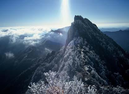 石鎚山 天狗岳 (標高1982m 近畿以西最高峰)