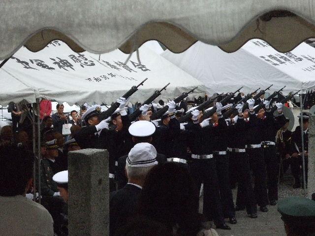 神風特攻敷島隊  並びに愛媛県特攻戦没者追悼式典
