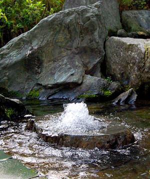 水の都西条 うちぬき ≪環境省選定 名水百選≫