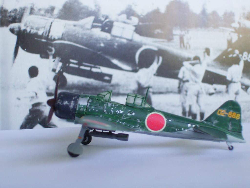 零式艦上戦闘機21型 第一次特別攻撃隊 関行男大尉機