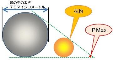 PM2.5(微小粒子状物質)