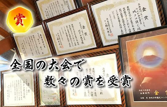 城戸口捷巳さん】の数々の≪賞状≫
