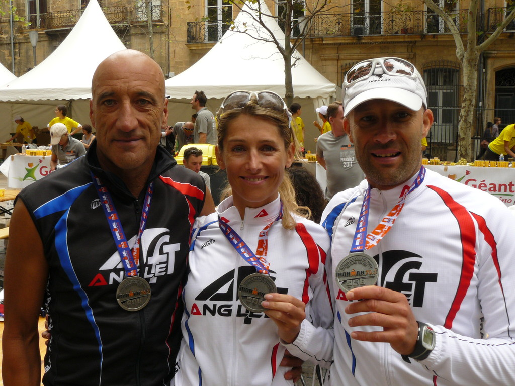 70.3 Ironman Pays d'Aix 2011: les finishers angloys