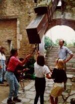 soulèvement du pont levis au Chateau de Tennessus