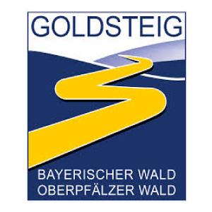 Logo Goldsteig Wanderweg