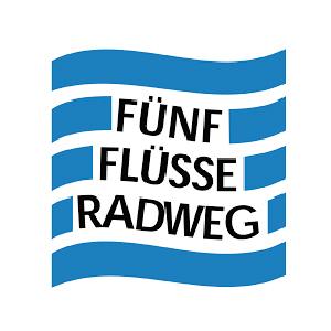 Logo Fünf Flüsse Radweg