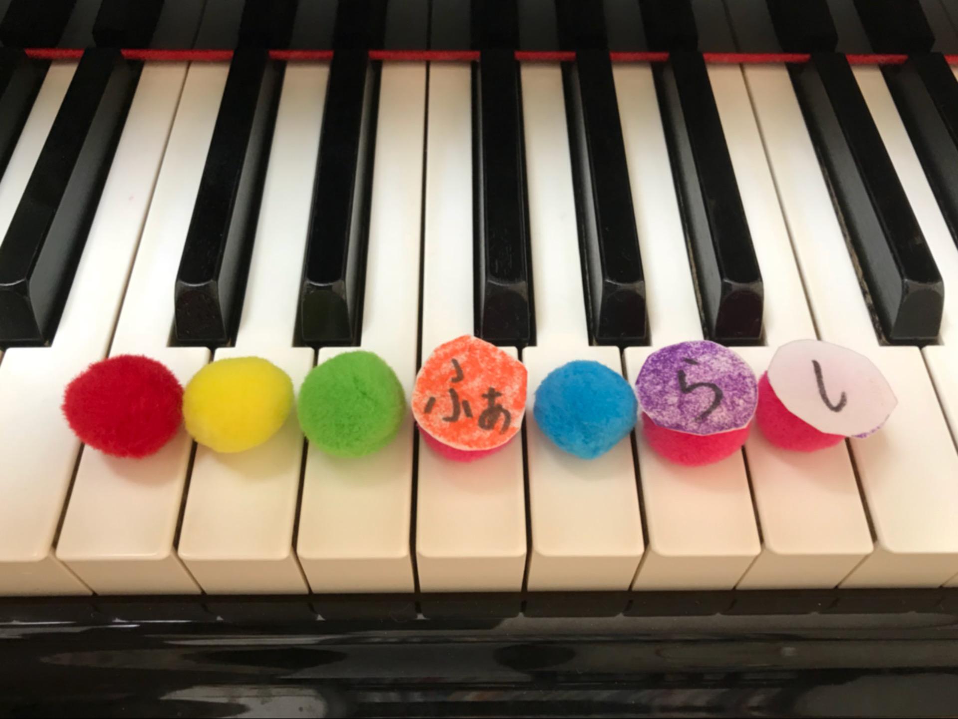 鍵盤と音の関係を色で分かりやすく学びます。