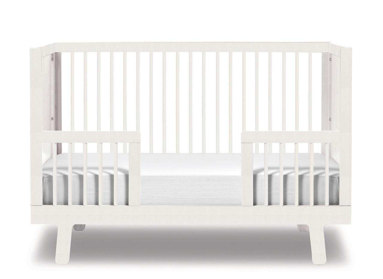 Kinderbett weiß 70x140  Oeuf Sparrow Umbauset zum Kinderbett 70 x 140 cm Weiss - KIND DER ...