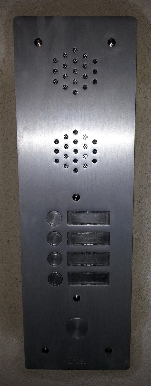 Interphone résidentiel 4 appels