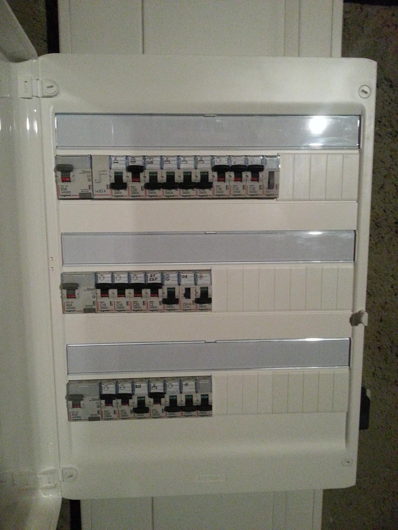 Rénovation coffret électrique