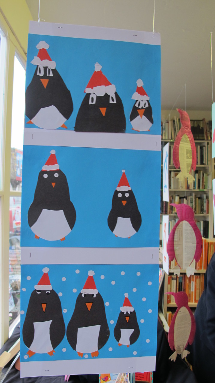 December 2014 - Penguins with Mary Elton Primary