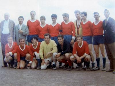 1. Mannschaft - Kreismeister 1968/69 - 1, Kreisklasse Simmern