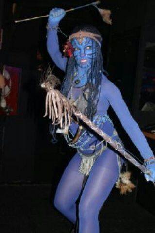 Avatar chica performance.