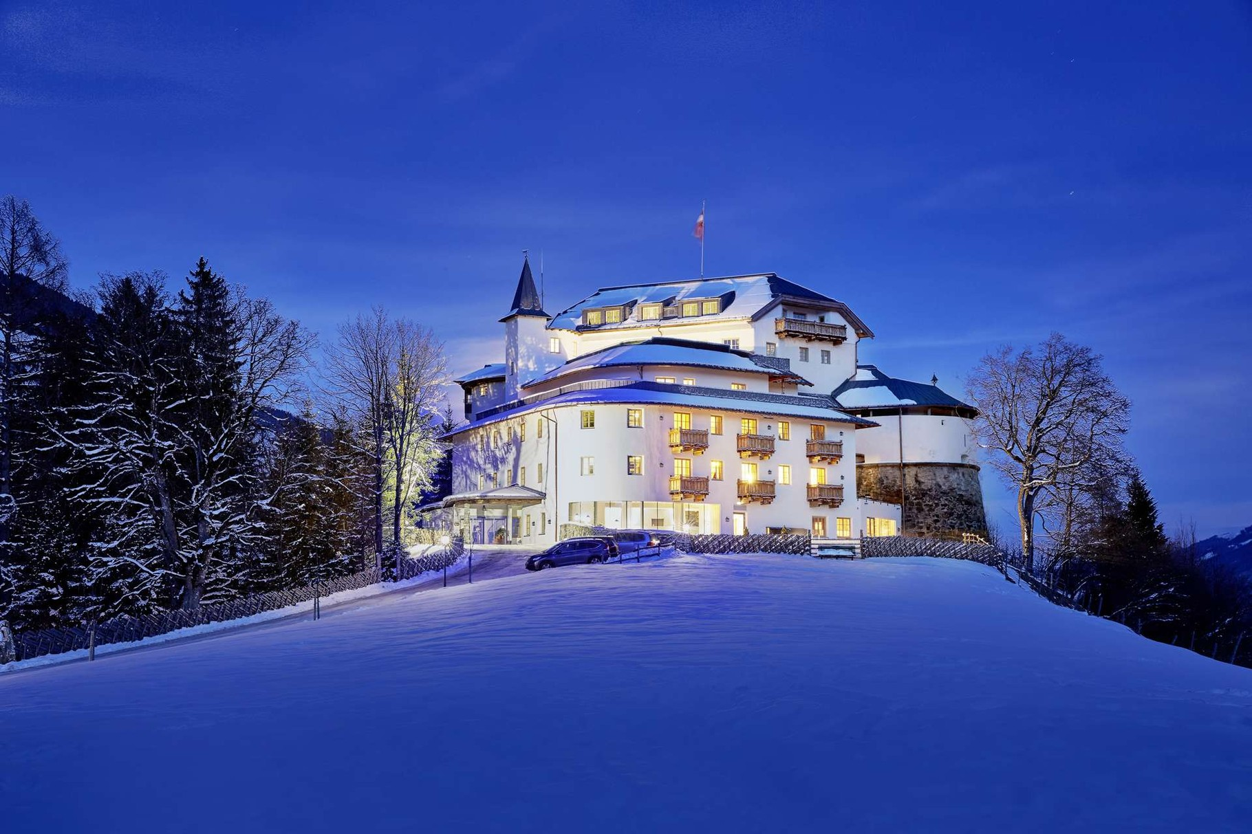 Schloss, Mittersill, Mittersill in Österreich