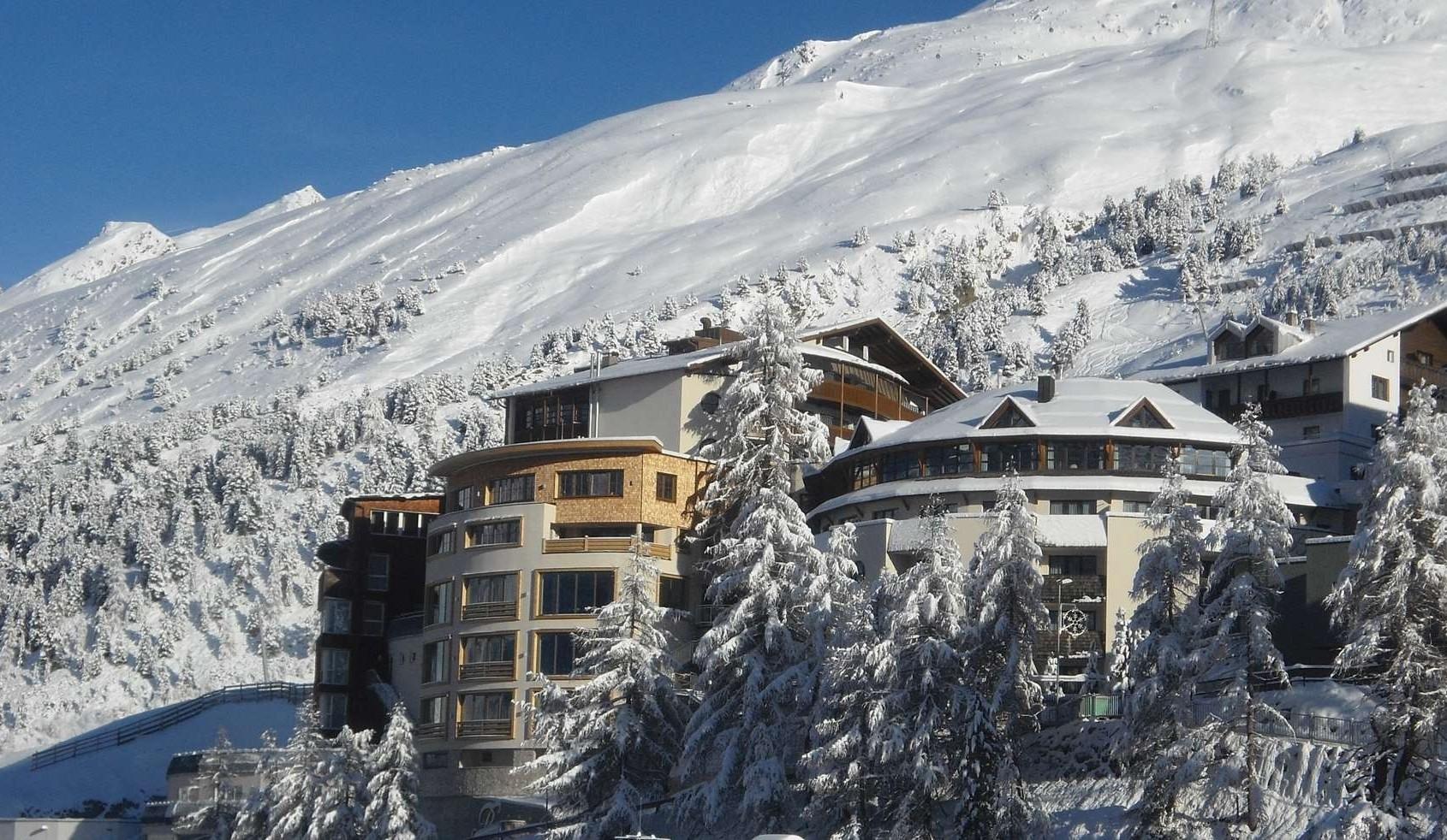 Luftbild Art & Relax Hotel Bergwelt