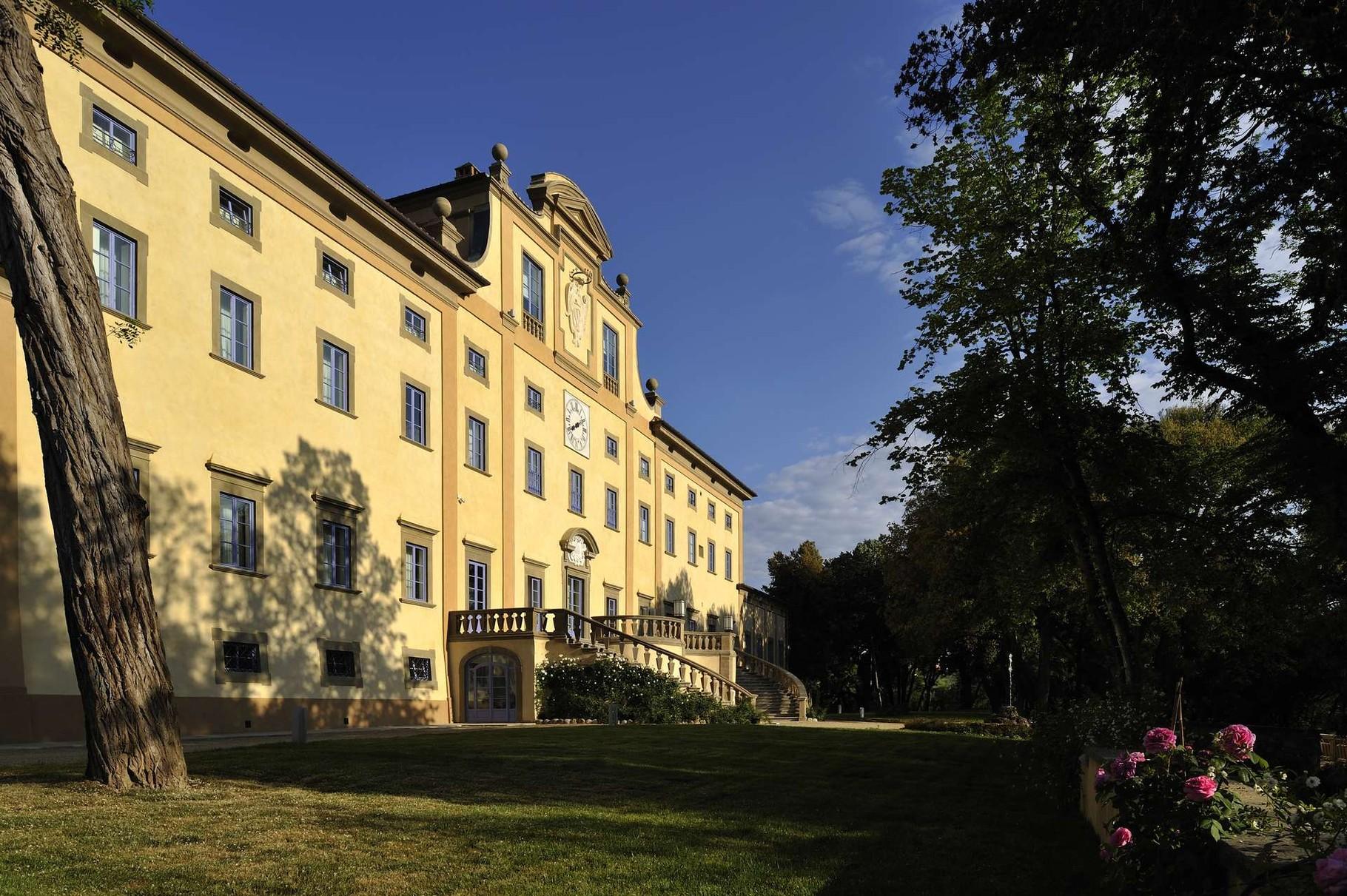 Außenansicht Villa Le Maschere