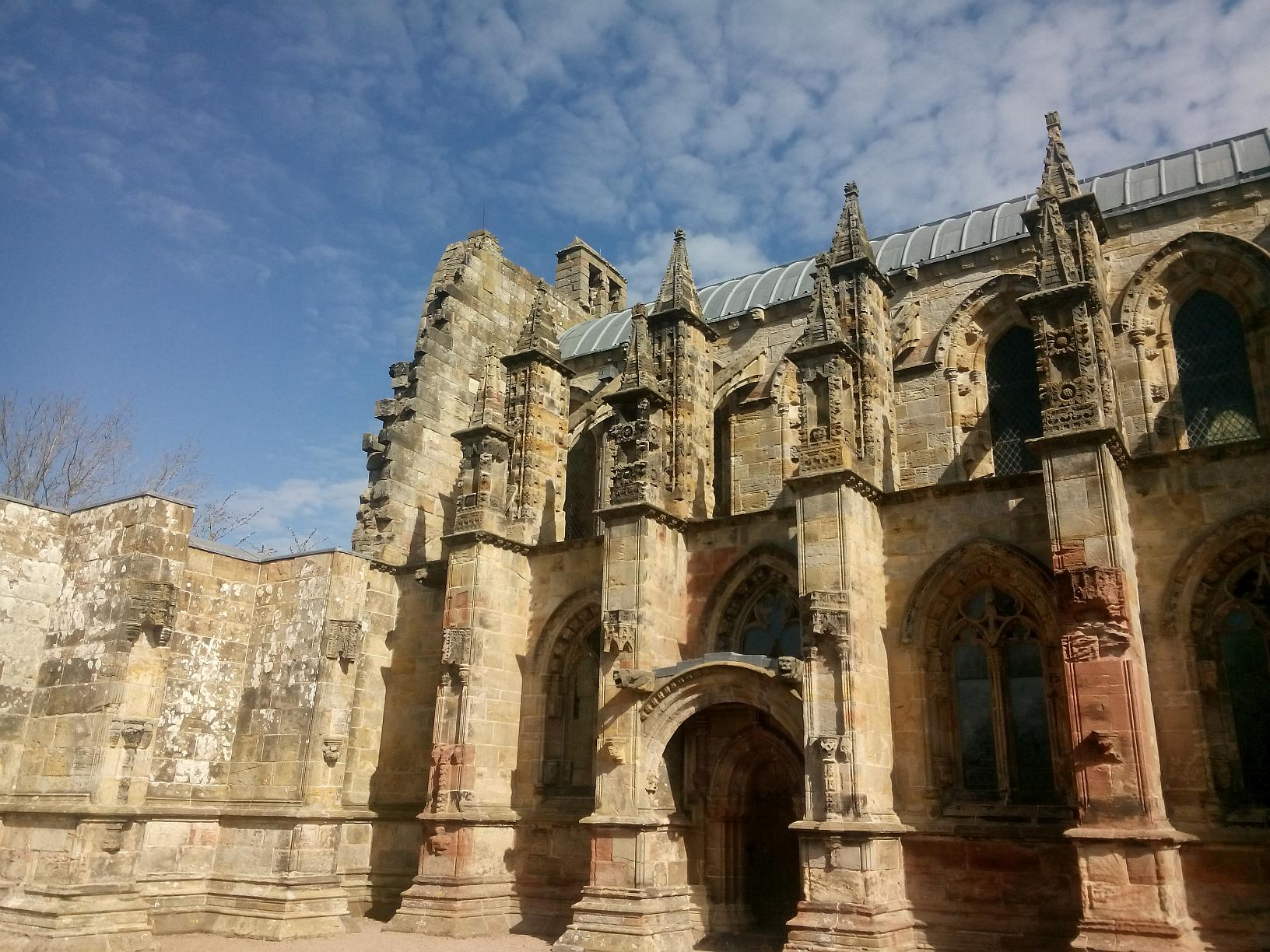 Rosslyn Chapel bei Edinburgh