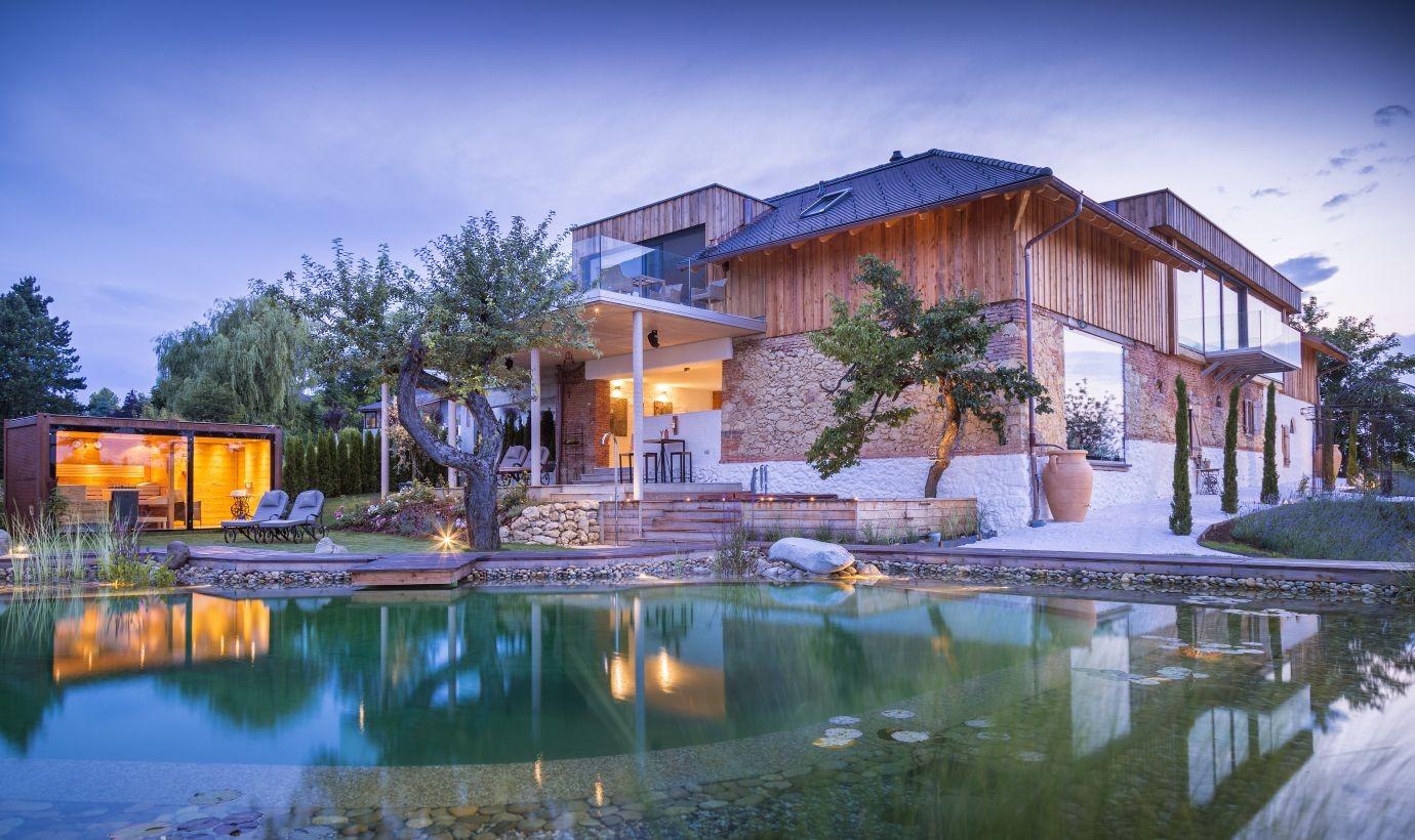 Golden Hill - Luxus-Rückzugsort mit Naturteich
