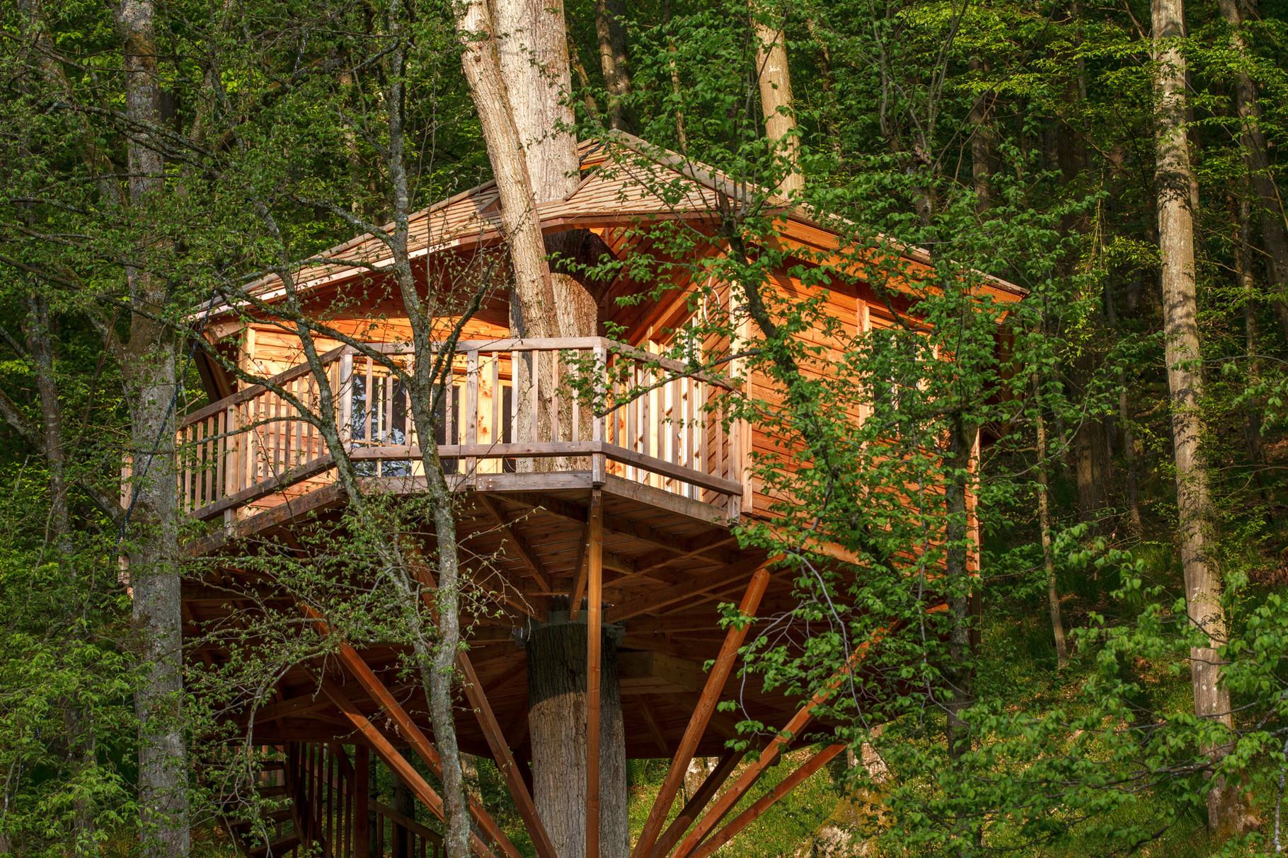 Außenansicht Baumhaus