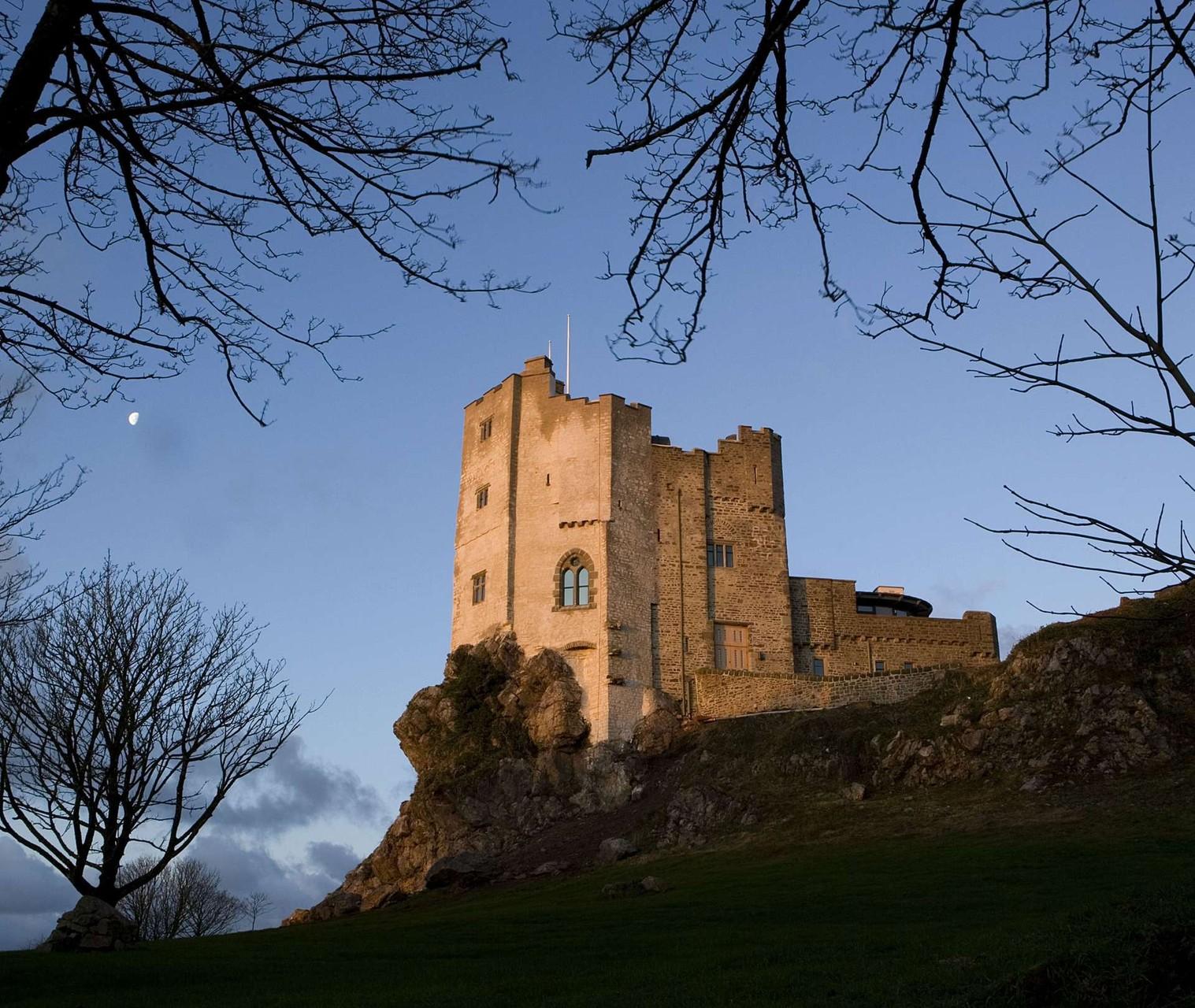 Roch Castle - wie aus dem Märchen