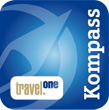 travel one Kompass Logo
