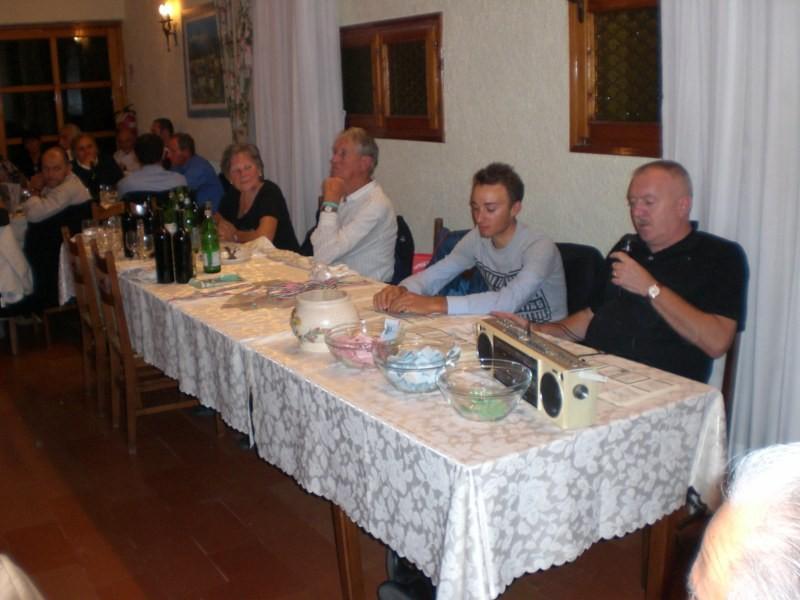 Brevetto del Grappa  Ristorante Dalla Mena  2 Ottobre 2010