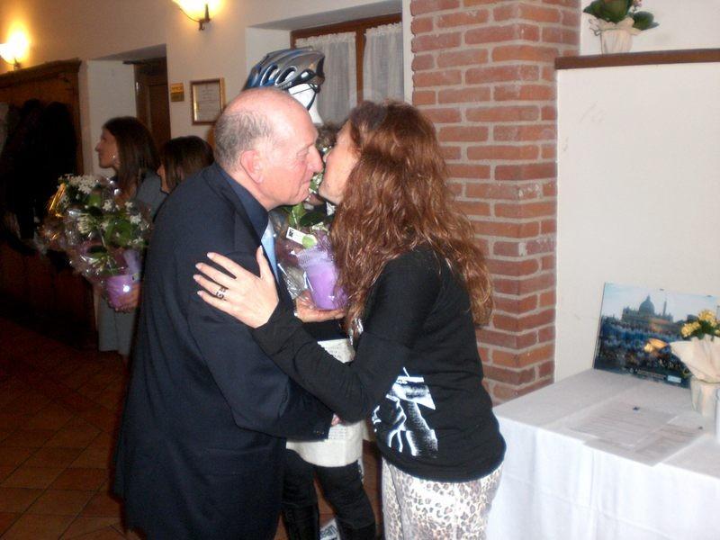 Asd VP Parolin    Pranzo Sociale 07/11/2010    Omaggio a Doriana