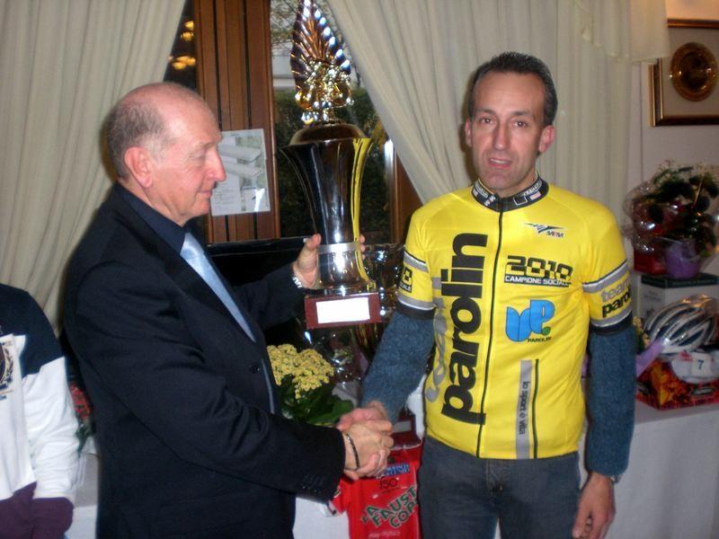 Asd VP Parolin    Pranzo Sociale 07/11/2010    Il Campione Sociale Bonin Maurizio