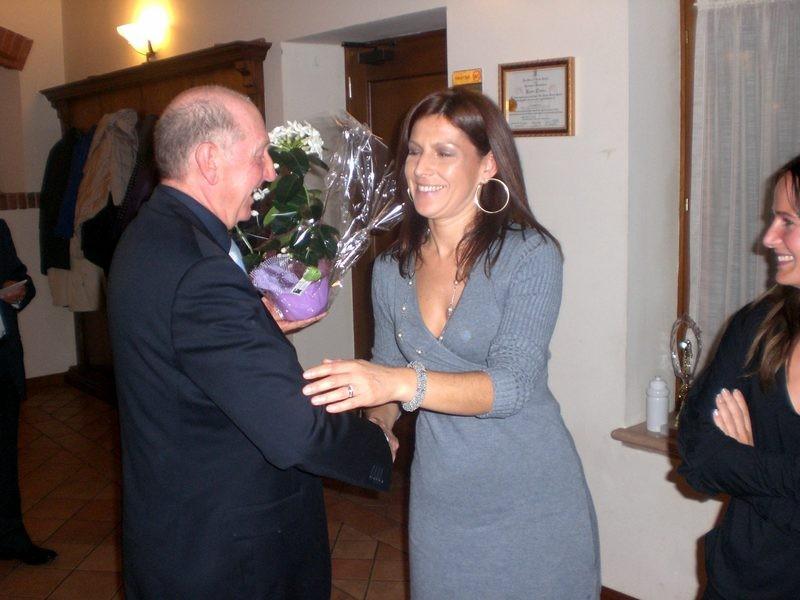 Asd VP Parolin    Pranzo Sociale 07/11/2010   Omaggio a Simonetta