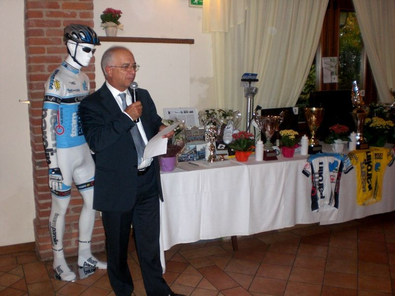 Asd VP Parolin    Pranzo Sociale 07/11/2010   Il Segretario Giulio Sartore
