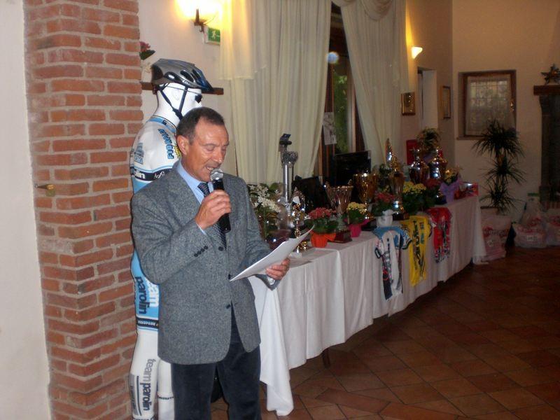 Asd VP Parolin   Pranzo Sociale 07/11/2010   Saluto del Presidente Enzo Mantoan