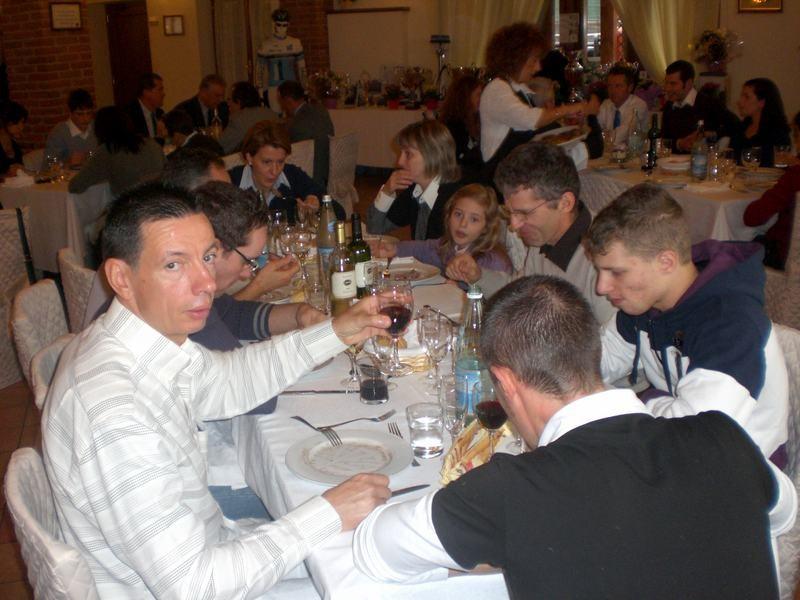 Asd VP Parolin    Pranzo Sociale 07/11/2010