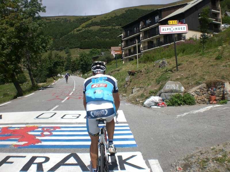 Sabato 23 Luglio 2011 Alpe d'Huez e Deux Alpes