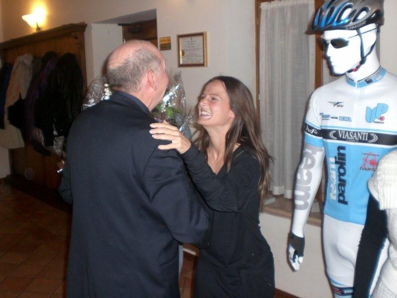 Asd VP Parolin    Pranzo Sociale 07/11/2010    Omaggio a Paola