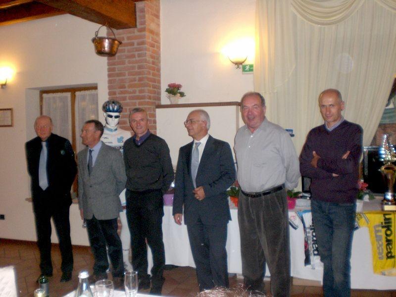Asd VP Parolin    Pranzo Sociale 07/11/2010    6 dei 7 componenti il Direttivo