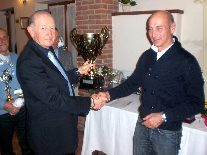 Asd VP Parolin    Pranzo Sociale 07/11/2010    Il Campione cat. Supergentleman-A  Campagnolo Daniele