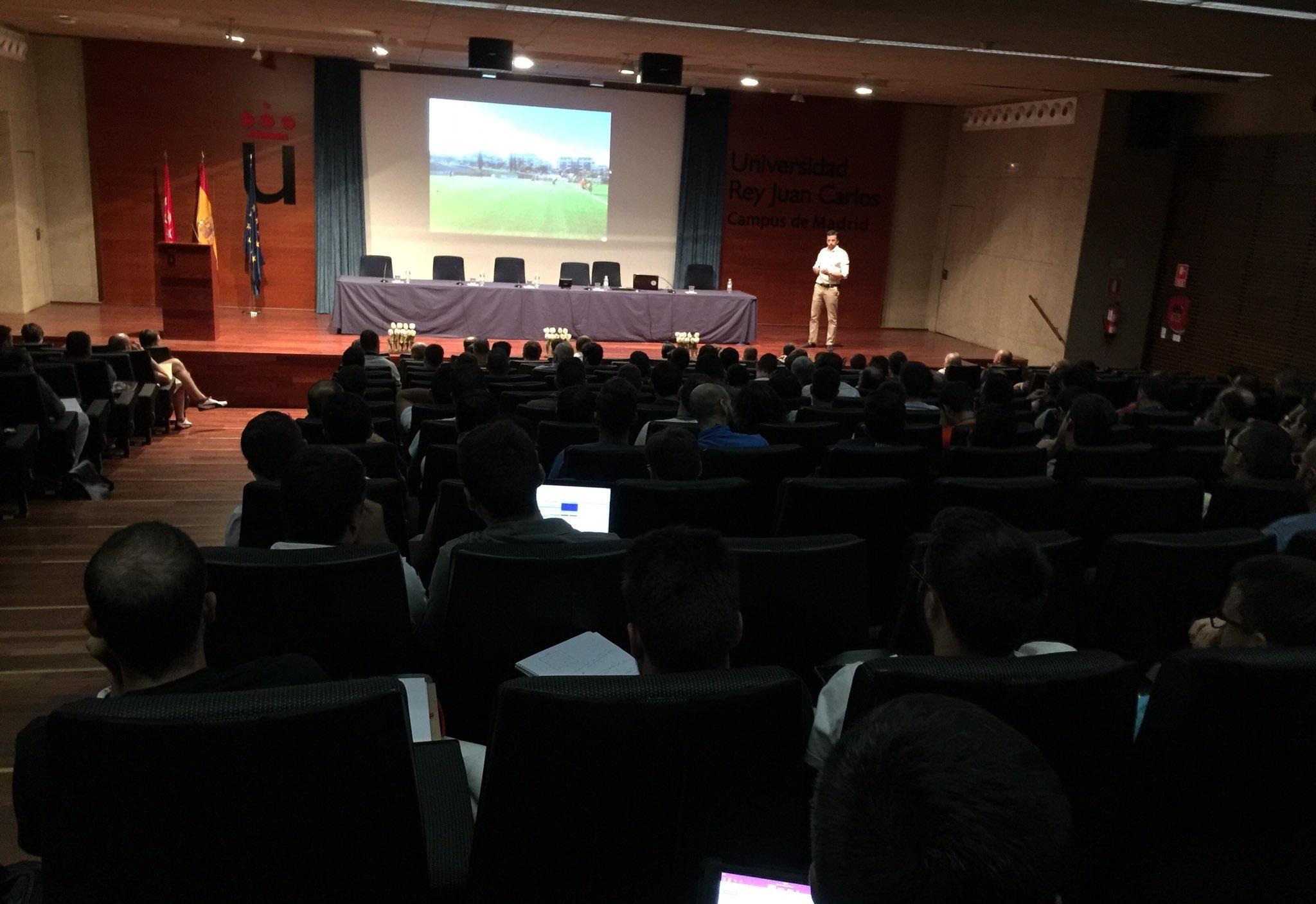 """IV Simposio Internacional """"Madrid Capital del Fútbol"""" 2016. Universidad Rey Juan Carlos."""