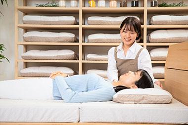 商品案内のオーダー枕