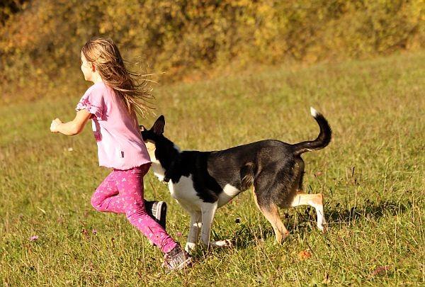 """Tango beim """" Kinder sind nett """" Training."""