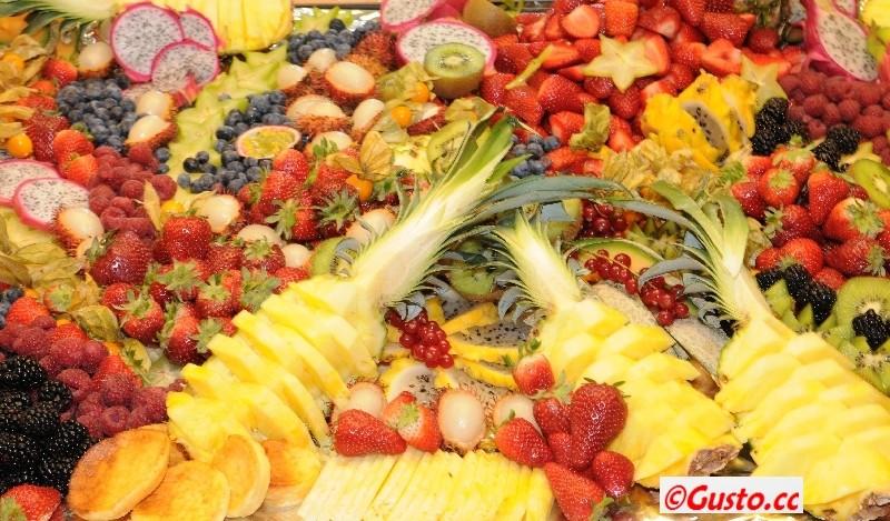 Obstplatte - so einfach und lecker kann Dessert sein