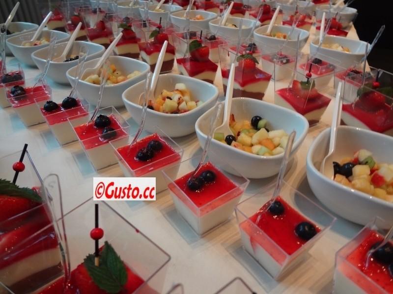 ein Dessertbuffet-Beispiel