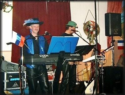 """Fasching 2005 in Steinbach ! hier einmal als Duo mit """"DJ Renko"""""""
